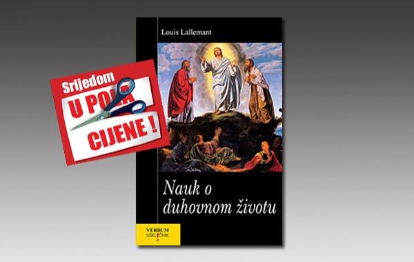 """Knjiga """"Nauk o duhovnom životu"""" pape Franje 5. listopada u pola cijene u Verbumu"""