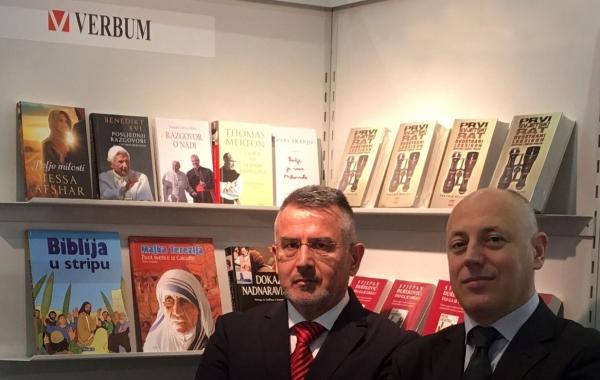 15 godina nakladne kuće Verbum na Sajmu knjige u Frankfurtu