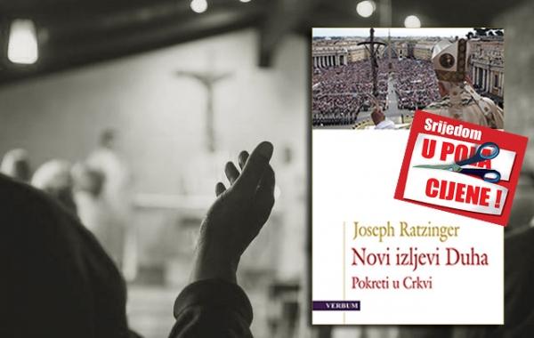 """Knjiga """"Novi izljevi Duha"""" 9. studenoga u pola cijene u Verbumu"""