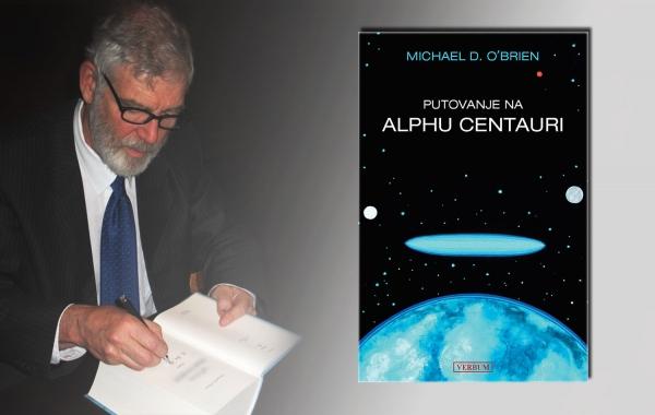 """Predstavljen roman Michaela D. O'Briena """"Putovanje na Alphu Centauri"""""""