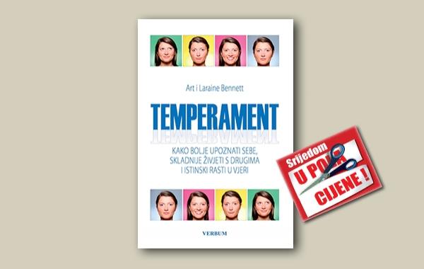 """""""Temperament"""" 26. travnja u pola cijene u Verbumu"""