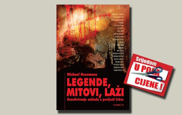"""""""Legende,mitovi,laži"""" 31. svibnja u pola cijene u Verbumu"""