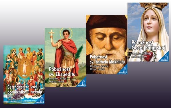 Novi naslovi u biblioteci HOSANA donose omiljene pobožnosti i molitve!