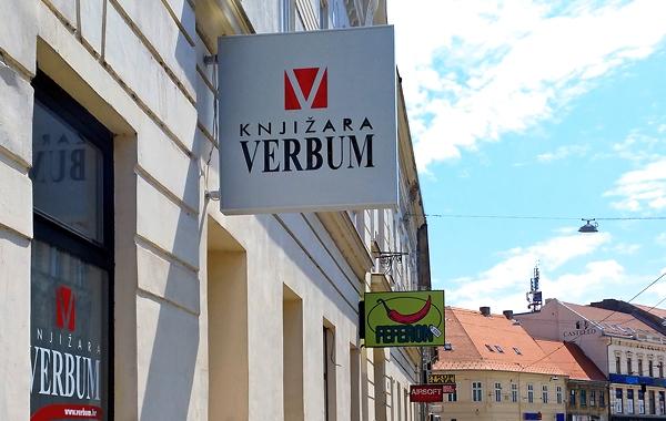 Verbumova knjižara u Osijeku od srpnja na novoj lokaciji!