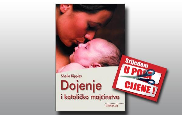 """""""Dojenje i katoličko majčinstvo"""" 26. srpnja u pola cijene u knjižarama Verbum"""