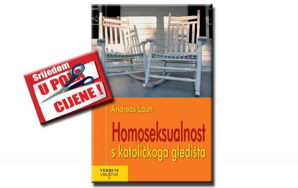 """""""Homoseksualnost s katoličkog gledišta"""" 23. kolovoza u pola cijene u knjižarama Verbum"""