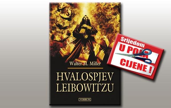 """""""Hvalospjev Leibowitzu"""" 6. rujna u pola cijene u knjižarama Verbum"""