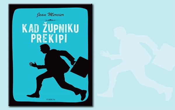 """Predstavljen humoristični hit roman """"Kad župniku prekipi"""" Jeana Merciera"""
