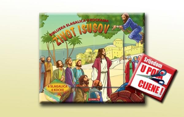 """""""Život Isusov"""" 27. rujna u pola cijene u knjižarama Verbum"""