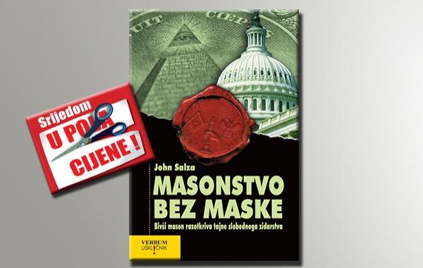 """""""Masonstvo bez maske"""" 11. listopada u pola cijene u knjižarama Verbum"""
