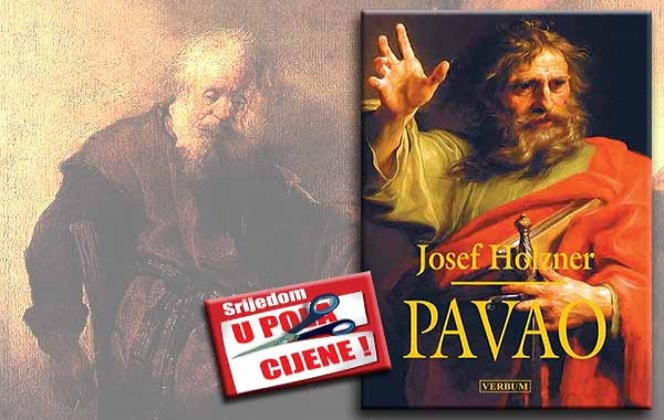 """""""Pavao"""" 6. prosinca u pola cijene u knjižarama Verbum"""
