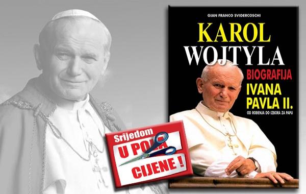 """""""Biografija Ivana Pavla II."""" 13. prosinca u pola cijene u knjižarama Verbum"""