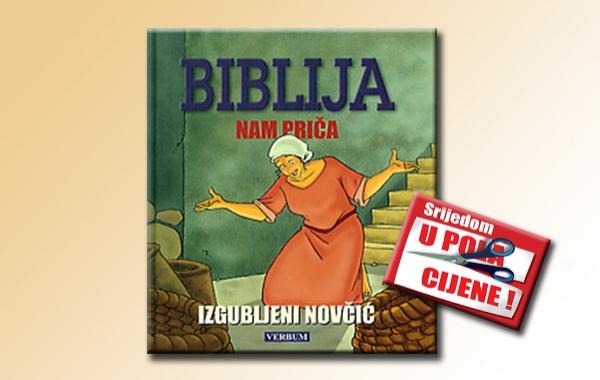"""""""Biblija nam priča: Izgubljeni novčić"""" 10. siječnja u pola cijene u Verbumu"""