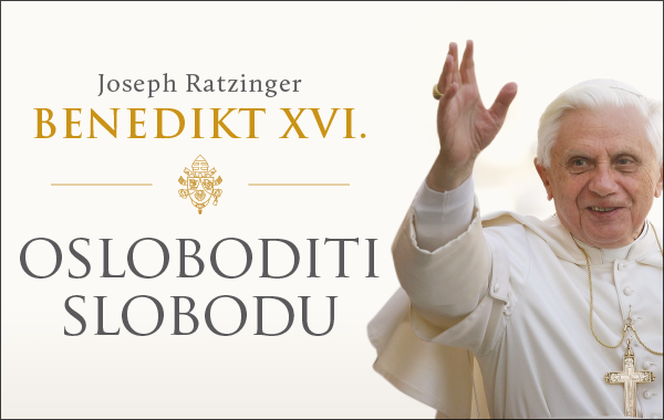 """Predstavljena značajna knjiga """"Osloboditi slobodu"""" pape Benedikta XVI."""