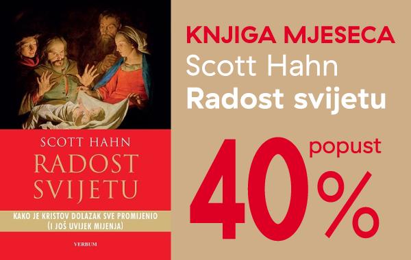 """Knjiga """"Radost svijetu"""" za članove kluba Verbum uz 40% popusta!"""