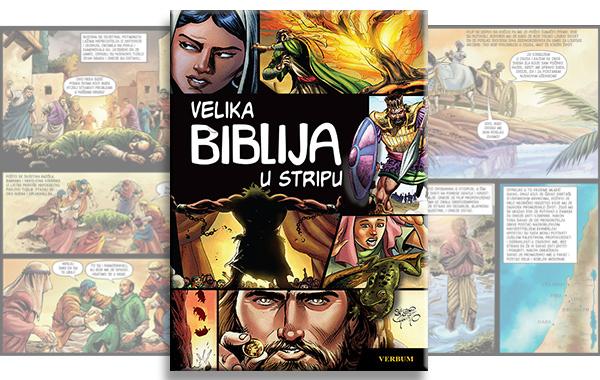 """HRT o """"Velikoj Bibliji u stripu"""", svjetskom bestseleru za čitatelje svih generacija"""
