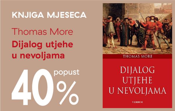 """Knjiga """"Dijalog utjehe u nevoljama"""" uz 40% popusta za članove kluba Verbum!"""