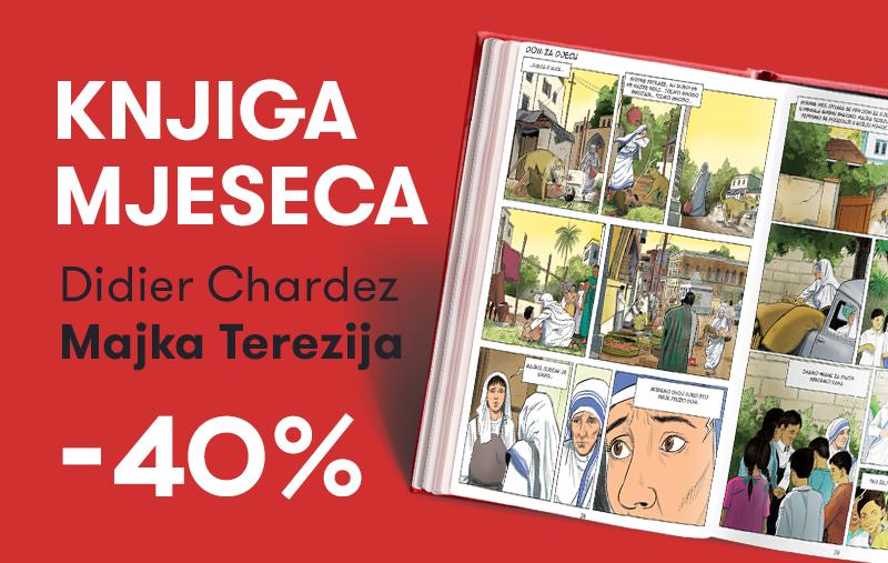 """Knjiga """"Majka Terezija: Život svetice iz Calcutte"""" uz 40% popusta za članove kluba Verbum!"""