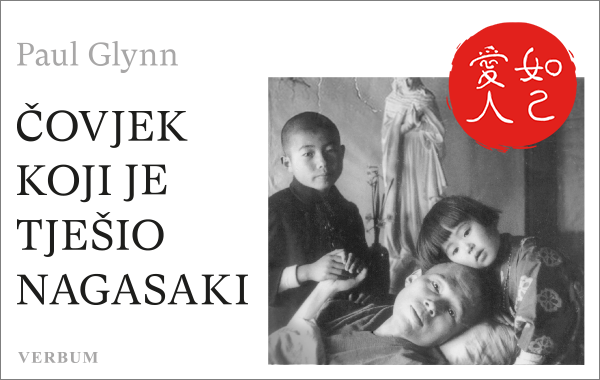 """Predstavljena knjiga """"Čovjek koji je tješio Nagasaki"""" Paula Glynna"""